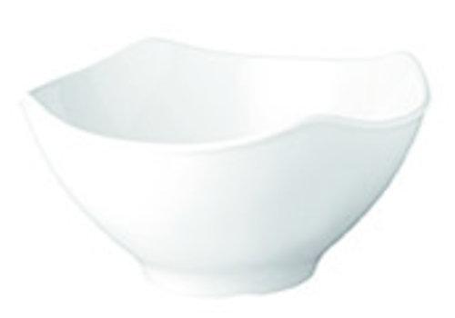 "APS-Germany Schaal ""Global Buffet | Melamine | 25.5 cm x 25.5 cm x H 13 cm | 3 liter | Wit"
