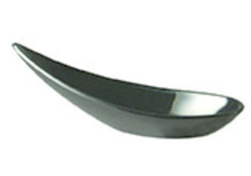 "APS-Germany Fingerfoodlepel ""Ming Hing""  Melamine   11 cm x 4.5 cm x H 4 cm   Zwart"