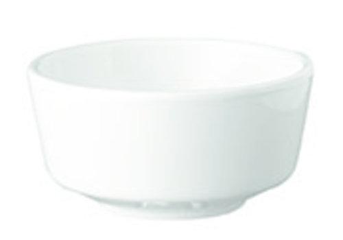 "APS-Germany Schaaltje ""Float""   Melamine   Ø 5.5 cm x H 3 cm   0.03 liter   Wit"