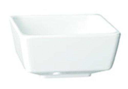 "APS-Germany Schaaltje ""Float""   Melamine   5.5 cm x 5.5 cm x H 3 cm   0.03 liter   Wit"