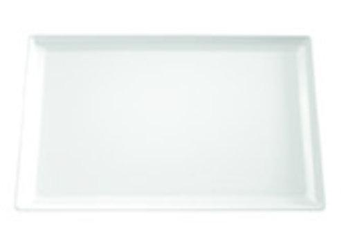 "APS-Germany Serveerplateau ""Float""   Melamine   1/1 GN    53 cm x 32.5 cm x H 3 cm   Wit"