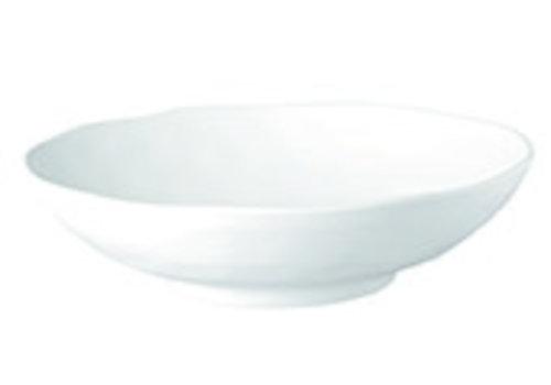 "APS-Germany Schaal ""Zen"" | Melamine | Ø 31 cm x H 8.5 cm | 2.5 liter | Wit"