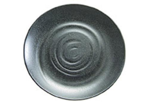 "APS-Germany Bord ""Zen"" | Melamine | Ø 28 cm x H 3 cm | Zwart"