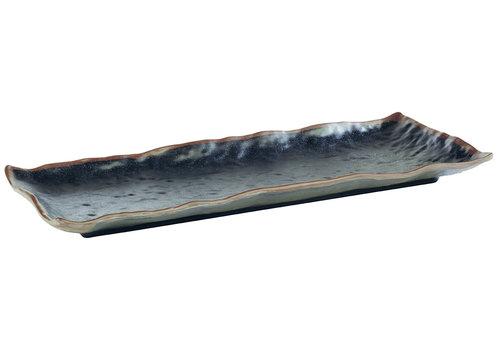 "APS-Germany Plateau ""Marone"" | Melamine | 39 cm x16 cm x H 3 cm"