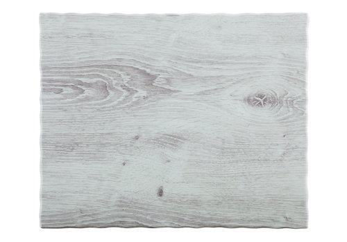 "APS-Germany Serveerplateau ""Driftwood"" | Melamine | 1/2 GN | 32.5 cm x 26.5 cm x 1.5 cm"