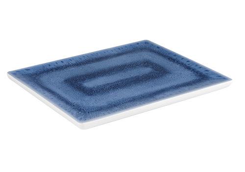 """APS-Germany GN Plateau """"Blue Ocean""""   Melamine   1/2 GN   32.5 cm x 26.5 cm x H 2 cm"""