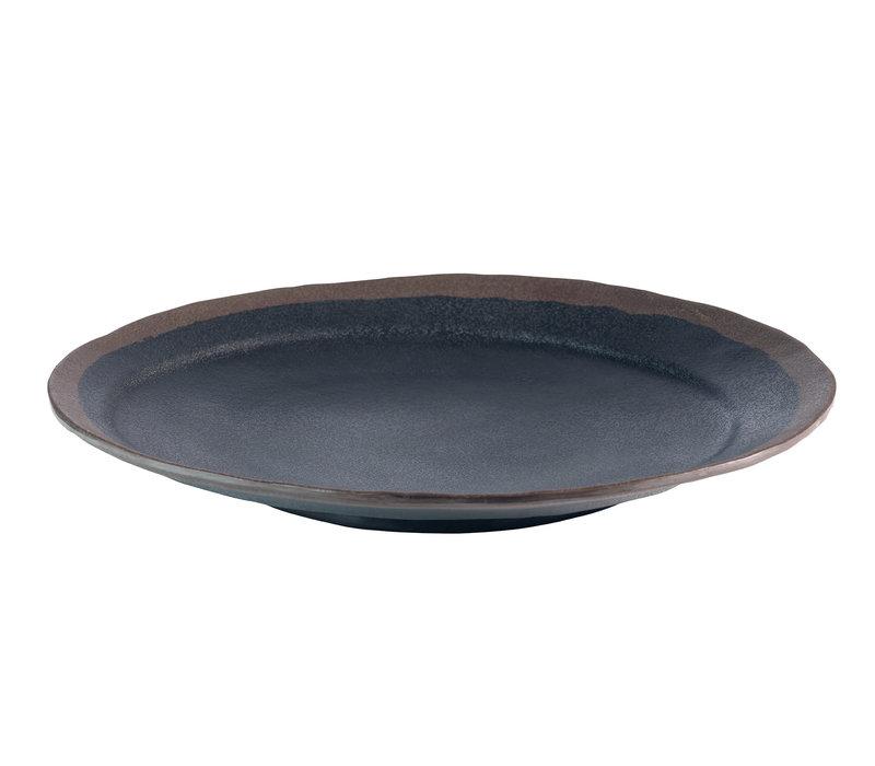 "Bord ""Marone"" | Melamine | Ø 28 cm x H 3.5 cm"