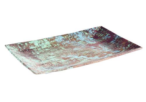 "APS-Germany Plateau ""Aquaris"" | Melamine | 34.5 cm x x22 cm x H 3 cm"