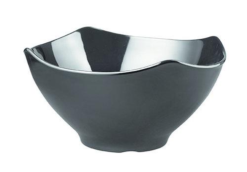 "APS-Germany Schaal ""Global Buffet | Melamine | 32 cm x 32 cm x H 16.5 cm | 4.50 liter | Zwart"