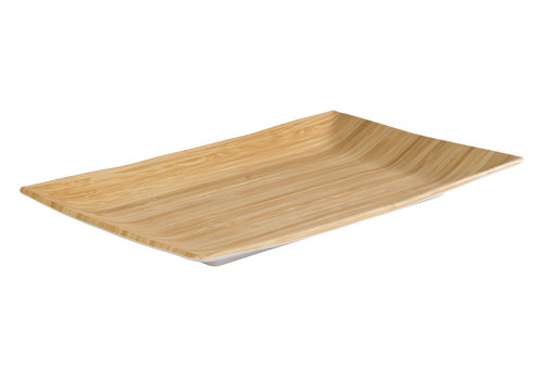 "APS-Germany Plateau ""Bamboo"" | Melamine | 234.5 cm x 21.5 cm x H 3 cm"