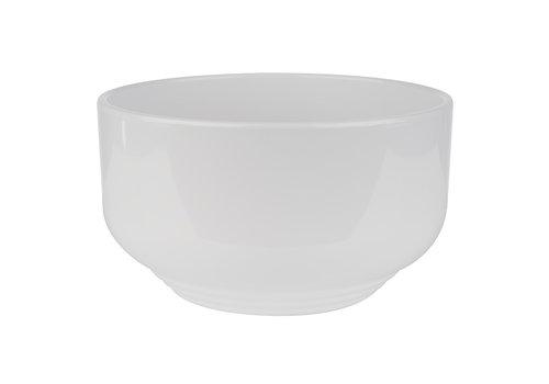 "APS-Germany Schaal ""Poke Bowl"" | Melamine | Ø 16 cm x H 9 cm | 1.10 liter | Wit"