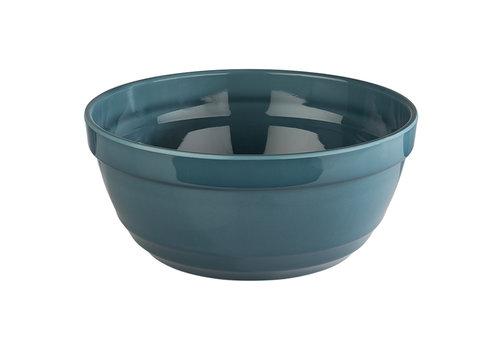 "APS-Germany Schaal ""Emma"" | Melamine | Ø 23 cm x H 10.5 cm | 2.30 liter | Turquoise"