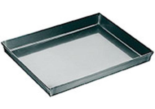 APS-Germany Pizzabakplaat | IJzer | 60 cm x 40 cm x2.5 cm