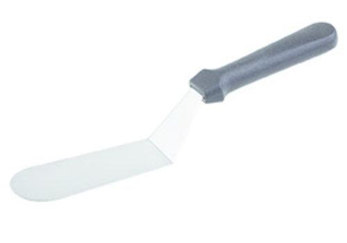 "APS-Germany Spatel ""Blue""| PP RVS | 17 cm x 5 cm | Handgreep 30 cm | Gebogen"
