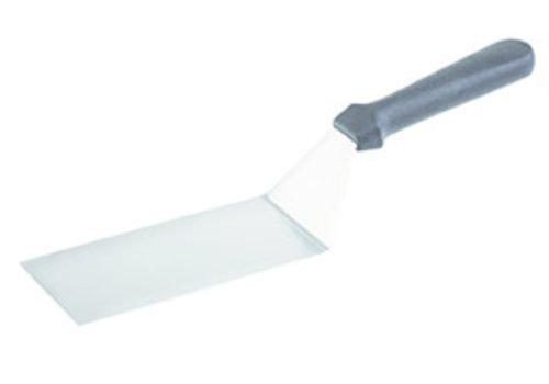 "APS-Germany Draai-/bakspatel ""Blue""| PP RVS | 20 cm x 7.5 cm | Handgreep 33 cm | Gebogen"