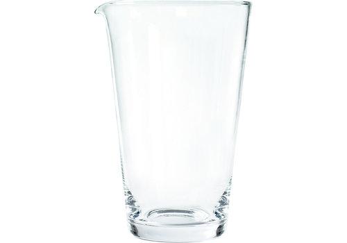 APS-Germany Mixglas met schenktuit | Glas | Ø 11.5 cm x H 19 cm | 1 liter
