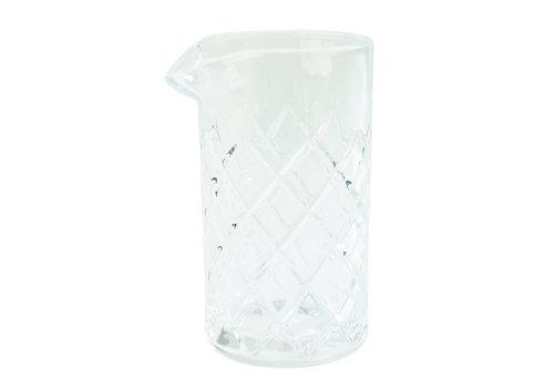 APS-Germany Mixglas met schenktuit | Glas | Ø 9 cm x H 16.5 cm | 0.50 liter