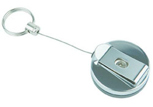 APS-Germany Rolsnoer Key cord   Ø 4 cm x H 2 cm   Lengte snoer 65 cm   Bevestigingsclip   Set van 2