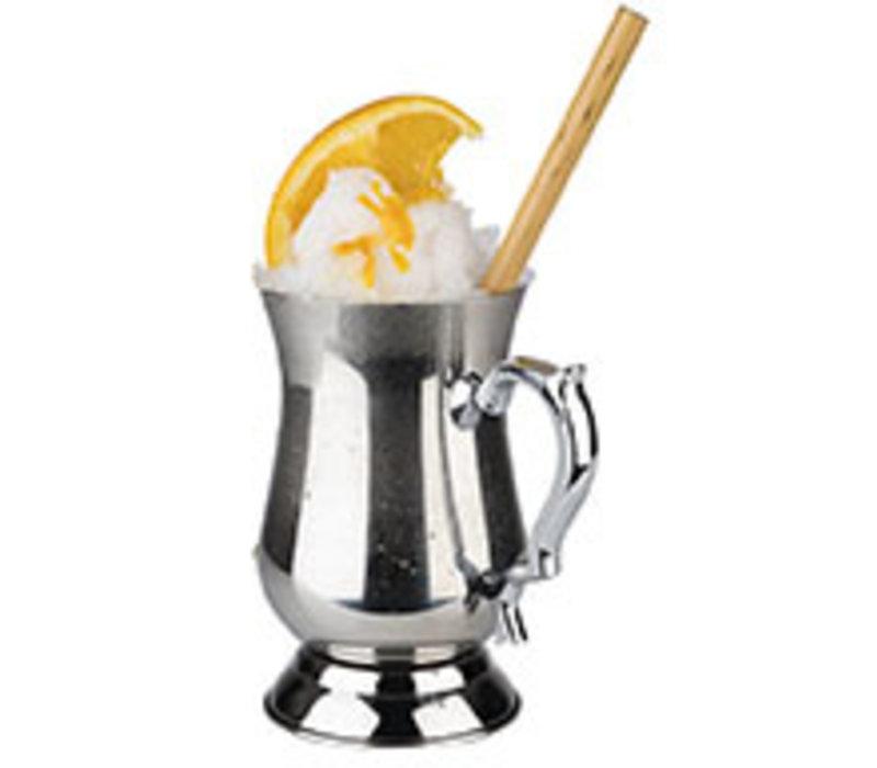 """Cocktail Mug"" drinkbeker   RVS   Ø 8.5 cm x H 14 cm   0.50 liter   Hoogglans gepolijst RVS"
