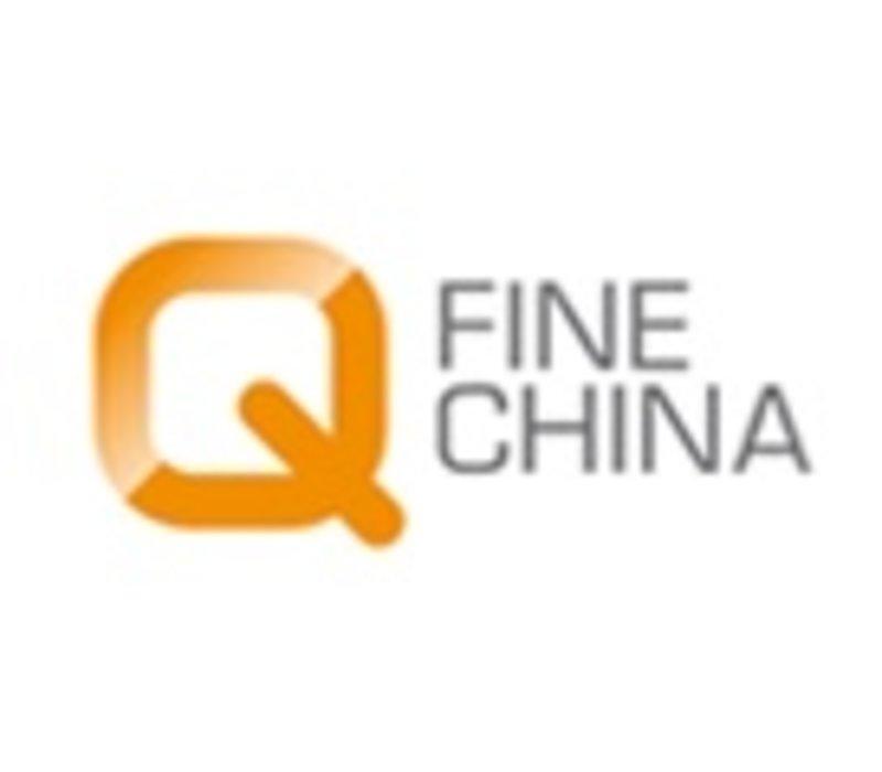 Q fine china porselein presentatiebord per 6 stuks