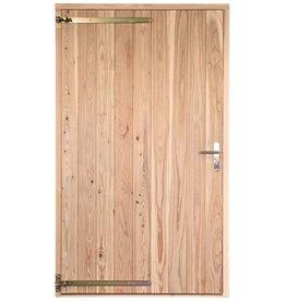 Opgeklampte deur enkel XL onbehandeld