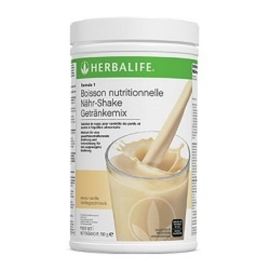 F1 Shake Vanille onctueuse XL 780gr
