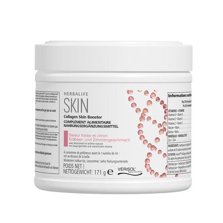 Collagen Skin Booster fraise et citron