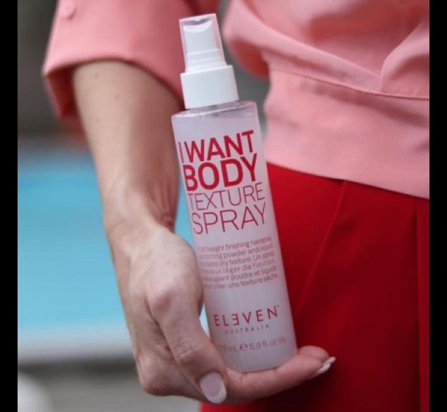 I Want Body Texture Spray