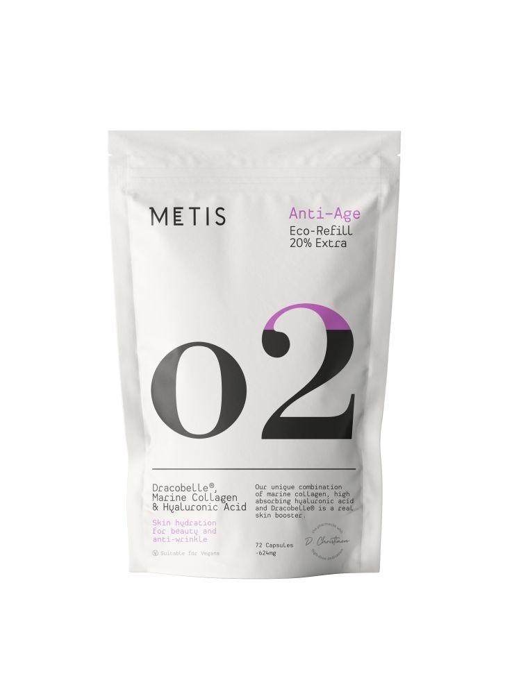 METIS ANTI-AGE 02 - VITAMINE - REFILL 72 CAPSULES