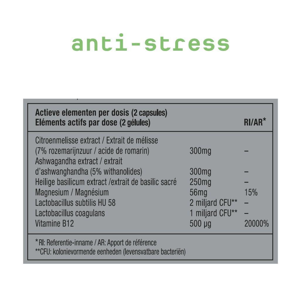 METIS ANTI-STRESS 03 - VITAMINE - BEKER 40 CAPSULES
