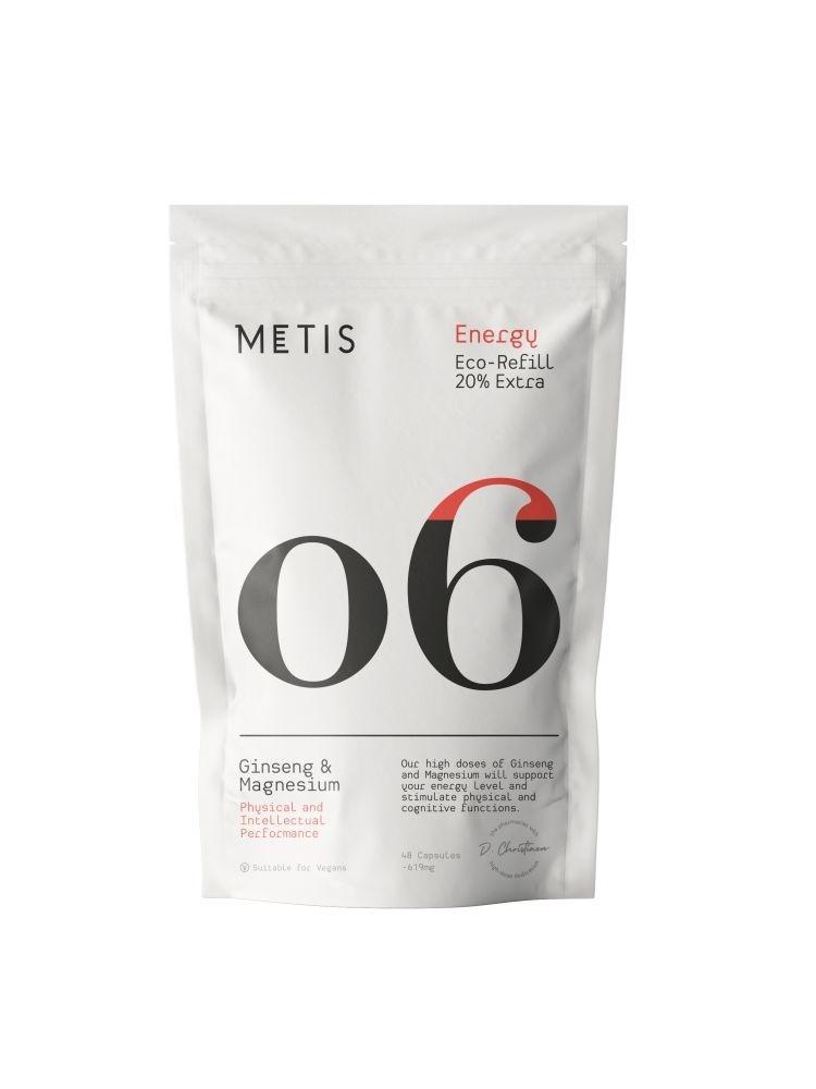 METIS ENERGY 06 - VITAMINE - REFILL 48 CAPSULES