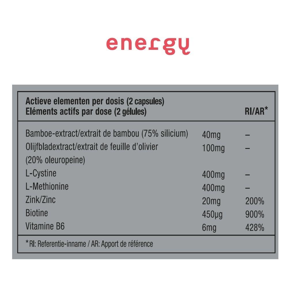 METIS ENERGY 06 - VITAMINE - BEKER 40 CAPSULES