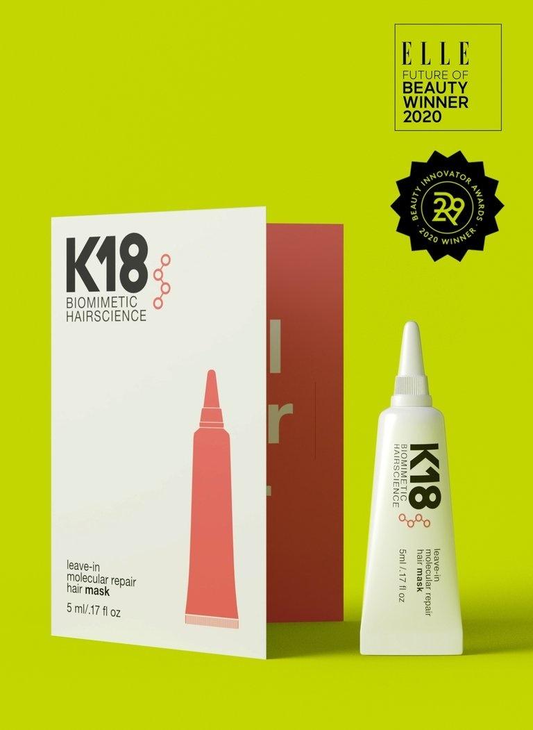 K18 HAIR Leave-In Molecular Repair Hair Mask 5ml