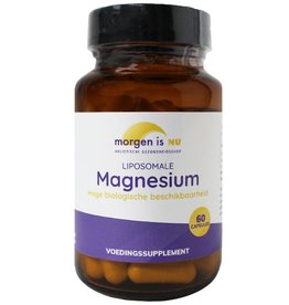 Morgen is Nu Liposomale Magnesium