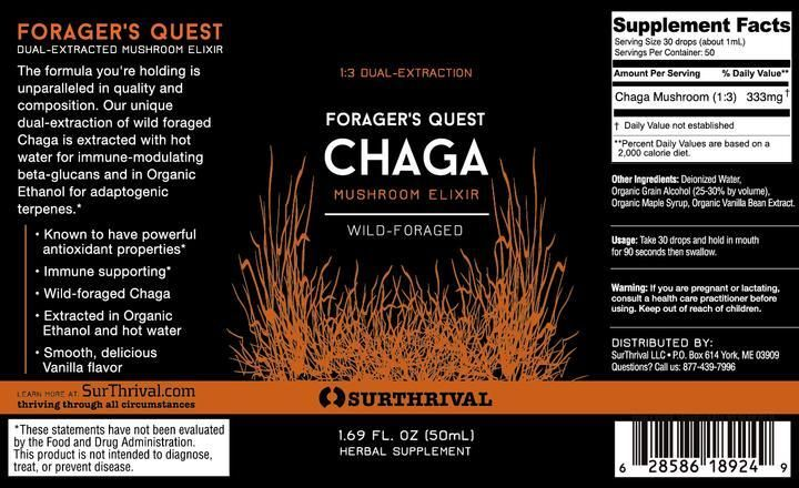 Morgen is Nu Chaga Forager's Quest