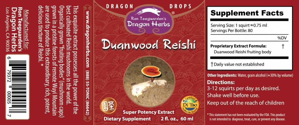 Morgen is Nu Duanwood Reishi Drops