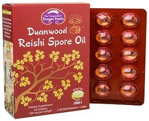Reishi Spore Oil – 30 softgels