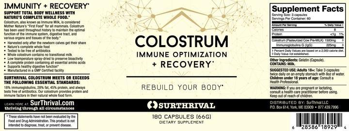 Morgen is Nu Biest Colostrum capsules