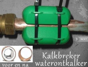 Kalkbreker Waterontkalker - eenvoudig minder kalkaanslag