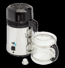 Meditech Europe Portable water destilleerder MD 4L Luxury inclusief glazen kan en 1 filter