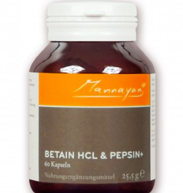 Morgen is Nu Betaine HCL & Pepsin+