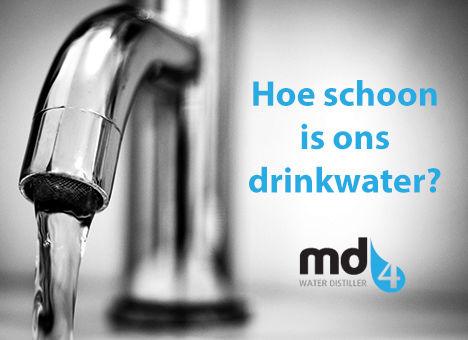 Hoe schoon is ons drinkwater?   Waarom zuiveren van levensbelang is