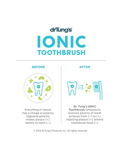 Morgen is nu Ionic Toothbrush