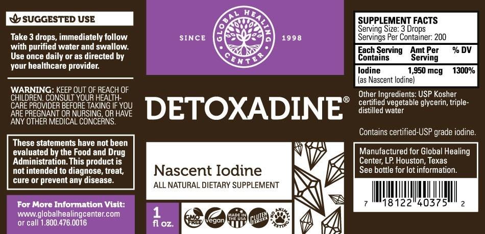 Morgen is nu Detoxadine