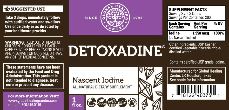 Morgen is Nu Global Healing Center - Detoxadine