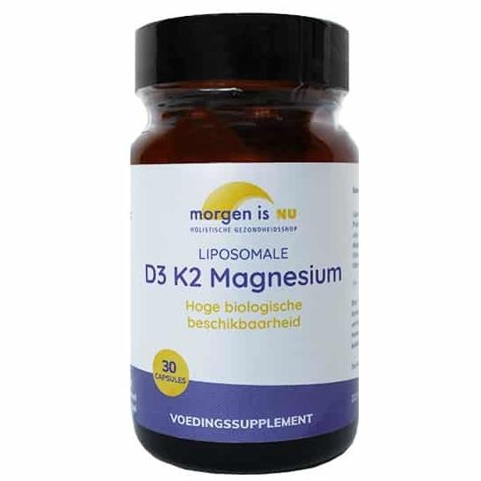 Morgen is Nu Liposomale D3 K2 Magnesium