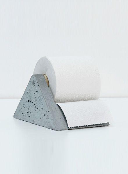 WertWerke Toilet tissue holder - Concrete without chemical additives
