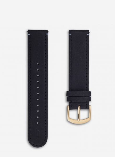 Lilienthal Strap for L1 watch - made in Germany of plant tanned leather