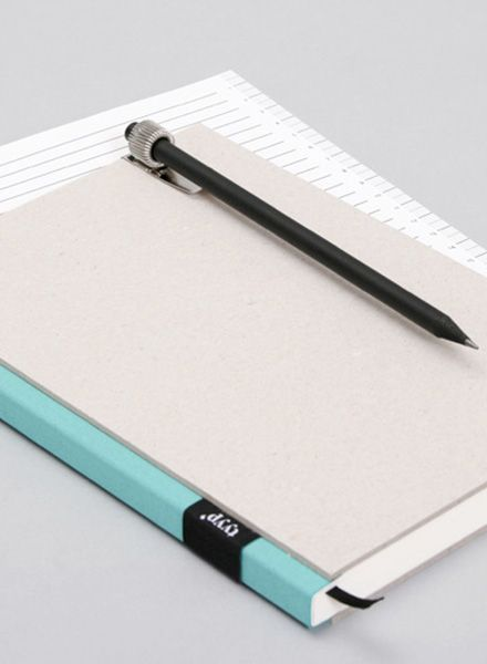 """Tyyp Pen holder """"Metal"""" - clip for inserting into a notebook"""