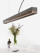 """GANTlights Lamp concrete """"C1"""" darkgrey configurator"""
